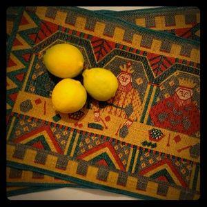 Scandinavian Runni Tekstiltry a.s. jute table mats